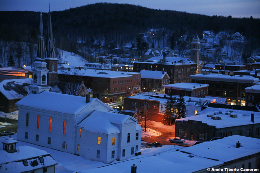 UCM Winter Night View