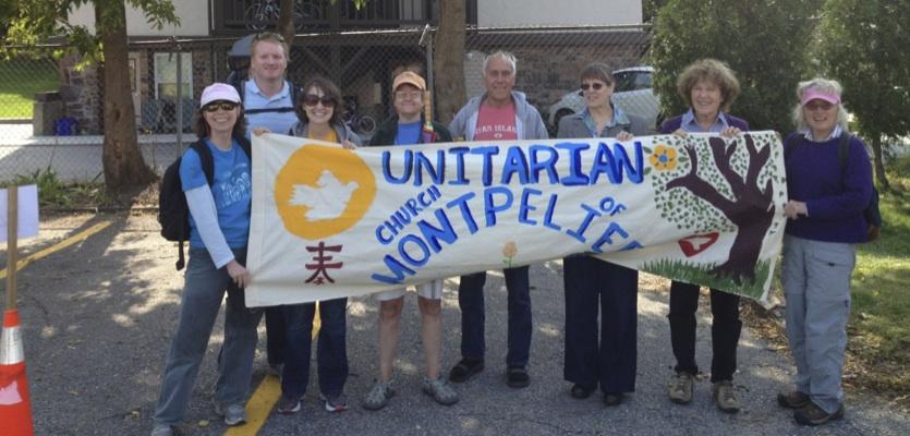Burlington Pride parade participants from UCM September 2012