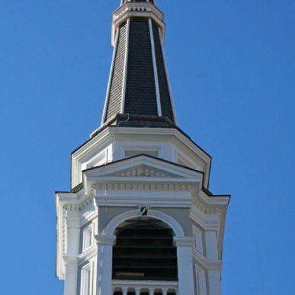 Steeple of UCM church
